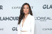 Christen Press attends the 2019 Glamour Women Of The Year Awards at Alice Tully Hall on November 11, 2019 in New York City.