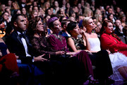 Megan Rapinoe (3L) Charlize Theron (5L) and Samantha Barry (6L) attend the 2019 Glamour Women Of The Year Awards at Alice Tully Hall on November 11, 2019 in New York City. (Photo by Ilya S. Savenok/Getty Images for Glamour