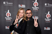 Barbara Bach and Ringo Starr attend the 2019 Global Citizen Prize at the Royal Albert Hall on December 13, 2019 in London, England.