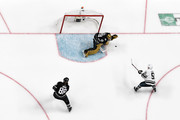 Marc-Andre Fleury #29 of the Vegas Golden Knights makes a save during the 2019 Honda NHL All-Star Game at SAP Center on January 26, 2019 in San Jose, California.