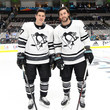 Sidney Crosby and Kris Letang