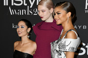 Alexa Demie, Hunter Schafer, and Zendaya attend the 2019 InStyle Awards at The Getty Center on October 21, 2019 in Los Angeles, California.