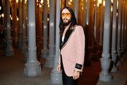 Jared Leto, wearing Gucci, attends the 2019 LACMA Art + Film Gala Presented By Gucci at LACMA on November 02, 2019 in Los Angeles, California.