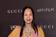 Eva Chow, wearing Gucci, attends the 2019 LACMA Art + Film Gala Presented By Gucci at LACMA on November 02, 2019 in Los Angeles, California.