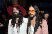 (L-R) Alessandro Michele and Jared Leto, both wearing Gucci, attend the 2019 LACMA Art + Film Gala Presented By Gucci at LACMA on November 02, 2019 in Los Angeles, California.