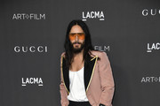 Jared Leto attends the 2019 LACMA 2019 Art + Film Gala Presented By Gucci  Arrivals on November 02, 2019 in Los Angeles, California.