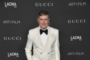 Eugene Sadovoy attends the 2019 LACMA 2019 Art + Film Gala Presented By Gucci on November 02, 2019 in Los Angeles, California.