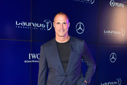 Nigel Barker attends the 2019 Laureus Fashion Show Gala during New York Fashion Week, bringing together sport and fashion to shine a light on Sport for Good at Mercedes-Benz Manhattan on September 10, 2019 in New York City.
