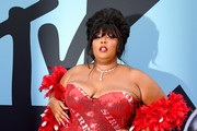 Lizzo attends the 2019 MTV Video Music Awards at Prudential Center on August 26, 2019 in Newark, New Jersey.