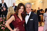 Desiree Gruber and Kyle MacLachlan attend The 2019 Met Gala Celebrating Camp: Notes on Fashion at Metropolitan Museum of Art on May 06, 2019 in New York City.