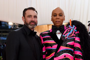 Georges LeBar and RuPaul attend The 2019 Met Gala Celebrating Camp: Notes on Fashion at Metropolitan Museum of Art on May 06, 2019 in New York City.