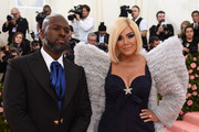 Corey Gamble and Kris Jenner attend The 2019 Met Gala Celebrating Camp: Notes on Fashion at Metropolitan Museum of Art on May 06, 2019 in New York City.