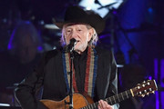 Willie Nelson performs onstage during MusiCares Person of the Year honoring Dolly Parton at Los Angeles Convention Center on February 8, 2019 in Los Angeles, California.