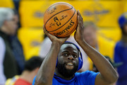Draymond Green #23 of the Golden State Warriors warms up prior to Game Six of the 2019 NBA Finals against the Toronto Raptors at ORACLE Arena on June 13, 2019 in Oakland, California. NOTE TO USER: User expressly acknowledges and agrees that, by downloading and or using this photograph, User is consenting to the terms and conditions of the Getty Images License Agreement.