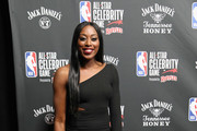Chiney Ogwumike attends the 2019 NBA All-Star Celebrity Game at Bojangles Coliseum on February 15, 2019 in Charlotte, North Carolina.