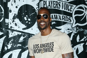 Dwight Howard attends the 2019 NBPA Players' Voice Awards at DREAM Hollywood on July 09, 2019 in Hollywood, California. (Photo by Phillip Faraone/Getty Images for National Basketball Players Association (NBPA))
