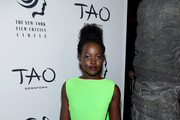 Lupita Nyong'o attends the 2019 New York Film Critics Circle Awards at TAO Downtown on January 07, 2020 in New York City.