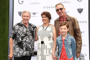 Tim Allen and Elizabeth Allen Dick attend the 2019 Rodeo Drive Concours d'Elegance on June 16, 2019 in Beverly Hills, California.