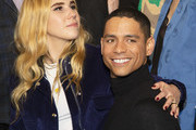 """(L) Zosia Mamet and Charlie Barnett  attend the premiere of """"Armistead Maupin's Tales Of The City"""" at the Castro Theatre on April 10, 2019 in San Francisco, California."""
