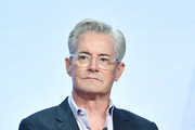 Kyle MacLachlan of Carol's Second Act speaks during the CBS segment of the 2019 Summer TCA Press Tour at The Beverly Hilton Hotel on August 1, 2019 in Beverly Hills, California.