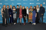 "(L-R) Madisen Beaty, Shea Whigham, Malin Akerman, Kara Hayward, Lucas Zumann, Liana Liberato, Sophia Bairley, Jordana Spiro, Martha Stephens, Adelaide Clemens, and Tony Hale attend the ""To The Stars"" during the 2019 Sundance Film Festival at The Ray on January 25, 2019 in Park City, Utah."