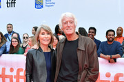 """(L-R) Isabella James Purefoy Ellis and Roger Deakins attend """"The Goldfinch"""" premiere during the 2019 Toronto International Film Festival at Roy Thomson Hall on September 08, 2019 in Toronto, Canada."""
