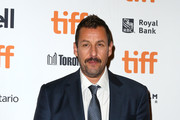 """Adam Sandler attends the """"Uncut Gems""""premiere during the 2019 Toronto International Film Festival at Princess of Wales Theatre on September 09, 2019 in Toronto, Canada."""
