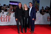"(L-R) Bruce Springsteen, Carolyn Blackwood, and Thom Zimny attend the ""Western Stars"" premiere during the 2019 Toronto International Film Festival at Roy Thomson Hall on September 12, 2019 in Toronto, Canada."