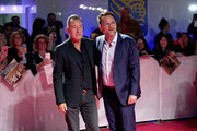 "(L-R) Bruce Springsteen and Thom Zimny attend the ""Western Stars"" premiere during the 2019 Toronto International Film Festival at Roy Thomson Hall on September 12, 2019 in Toronto, Canada."