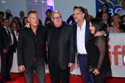 "(L-R) Bruce Springsteen, Jon Landau, Thom Zimny and Barbara Carr attend the ""Western Stars"" premiere during the 2019 Toronto International Film Festival at Roy Thomson Hall on September 12, 2019 in Toronto, Canada."