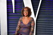 Gayle King attends the 2019 Vanity Fair Oscar Party hosted by Radhika Jones at Wallis Annenberg Center for the Performing Arts on February 24, 2019 in Beverly Hills, California.