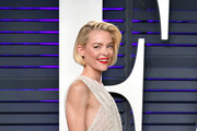 Jaime King attends the 2019 Vanity Fair Oscar Party hosted by Radhika Jones at Wallis Annenberg Center for the Performing Arts on February 24, 2019 in Beverly Hills, California.