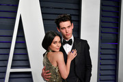 Vanessa Hudgens (L) and Austin Butler attend the 2019 Vanity Fair Oscar Party hosted by Radhika Jones at Wallis Annenberg Center for the Performing Arts on February 24, 2019 in Beverly Hills, California.