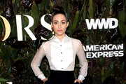 Emmy Rossum attends the 2019 WWD Honors at Intercontinental New York Barclay on October 29, 2019 in New York City.