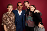 Rachel Keller, Navid Negahban, Dan Stevens and Lauren Tsai of FX's 'Legion' pose for a portrait during the 2019 Winter TCA Getty Images Portrait Studio at The Langham Huntington, Pasadena on February 4, 2019 in Pasadena, California.