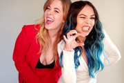 (Image was captured on the LG V40 ThinQ) Sasha Pieterse and Janel Parrish of ABC's 'Pretty Little Liars: The Perfectionists'  pose for a portrait during the 2019 Winter TCA Getty Images Portrait Studio at The Langham Huntington, Pasadena on February 5, 2019 in Pasadena, California.