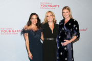 Dee Dee Sides, Gillian Hearst and Sarah Arison attend the YoungArts New York Gala at the Metropolitan Museum on April 16, 2019 in New York City.