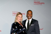 Gala Co-Chair Sarah Arison and Michael McElroy attend the YoungArts New York Gala at the Metropolitan Museum on April 16, 2019 in New York City.