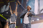 (EDITORIAL USE ONLY. NO COMMERCIAL USE) (L-R) Brian Kelley and Tyler Hubbard of Florida Georgia Line perform onstage during the 2019 iHeartCountry Festival Presented by Capital One at the Frank Erwin Center on May 4, 2019 in Austin, Texas.