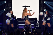 Jennifer Lopez performs onstage at the 2019 iHeartRadio Fiesta Latina at AmericanAirlines Arena on November 2, 2019 in Miami, Florida.