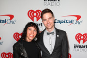 (EDITORIAL USE ONLY. NO COMMERCIAL USE) (L-R) Kim Schifino and Matt Johnson of Matt and Kim arrive at the 2019 iHeartRadio Podcast Awards Presented by Capital One at the iHeartRadio Theater LA on January 18, 2019 in Burbank, California.
