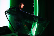 (EDITORIAL USE ONLY. NO COMMERCIAL USE) Zedd performs onstage at 2019 iHeartRadio Wango Tango presented by The JUVÉDERM® Collection of Dermal Fillers at Dignity Health Sports Park on June 01, 2019 in Carson, California.