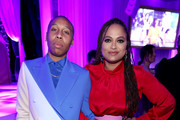 (L-R) Lena Waithe and Ava DuVernay attend the 2020 13th Annual ESSENCE Black Women in Hollywood Luncheon at Beverly Wilshire, A Four Seasons Hotel on February 06, 2020 in Beverly Hills, California.
