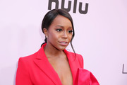 Aja Naomi King attends the 2020 13th Annual ESSENCE Black Women in Hollywood Luncheon at Beverly Wilshire, A Four Seasons Hotel on February 06, 2020 in Beverly Hills, California.