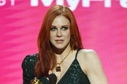 Actress Maitland Ward accepts the award for Best Supporting Actress during the 2020 Adult Video News Awards at The Joint inside the Hard Rock Hotel & Casino on January 25, 2020 in Las Vegas, Nevada.