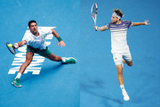 Novak Djokovic and Dominic Thiem Photos Photo