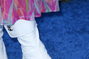Naomi Watts, shoe detail, attends the 2020 Film Independent Spirit Awards on February 08, 2020 in Santa Monica, California.