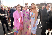 (L-R) Joey King, Kaitlyn Dever, and Hunter King attend the 2020 Film Independent Spirit Awards on February 08, 2020 in Santa Monica, California.