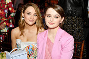 (L-R) Hunter King and Joey King during the 2020 Film Independent Spirit Awards on February 08, 2020 in Santa Monica, California.