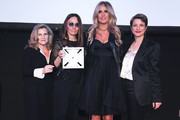 Valeria Rumori,Maria Sole Tognazzi, Tiziana Rocca, and Silvia Chiave pose for a photo at the 2020 Filming Italy Awards at the Italian Cultural Institute on January 22, 2020 in Los Angeles, California.